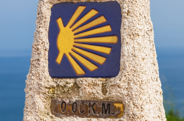 The Camino de Santiago has a length of more than 4,000 kilometres.