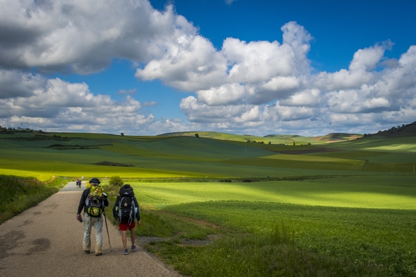 Stages and daily kilometres on the Camino de Santiago