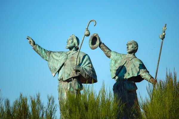 "Ultreia et Suseia its the origin of ""Buen Camino"""