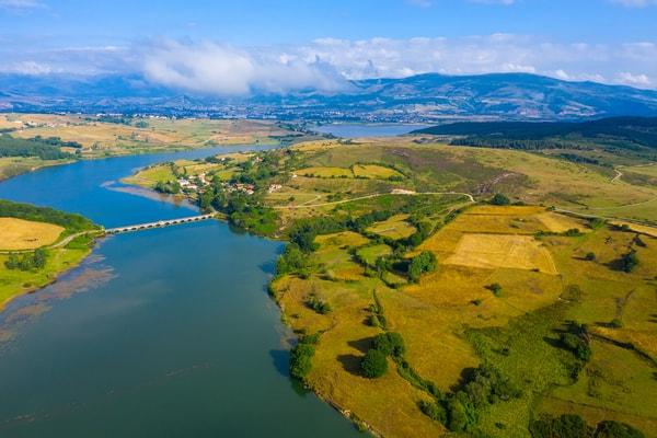 Etapas del Camino del Ebro siguiendo el curso del río