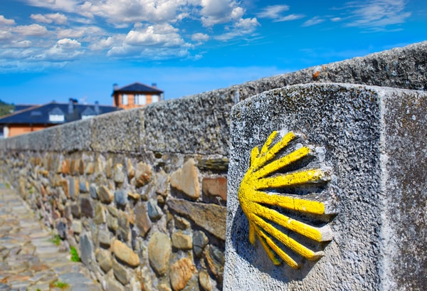The Camino de Santiago is a network of Caminos.