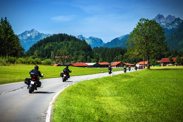 Advantages of doing the Camino by motorbike