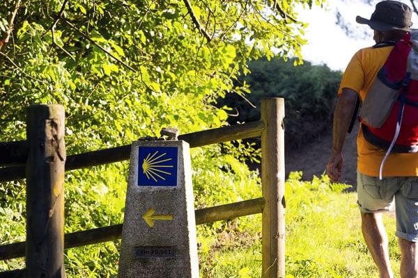 Der englische Weg hat den Ruf, der kürzeste Jakobsweg zu sein.