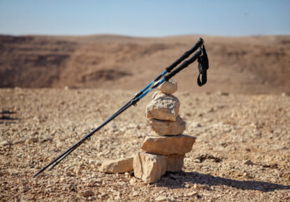 Taking sticks on the Camino de Santiago is not essential, but it is highly recommended.