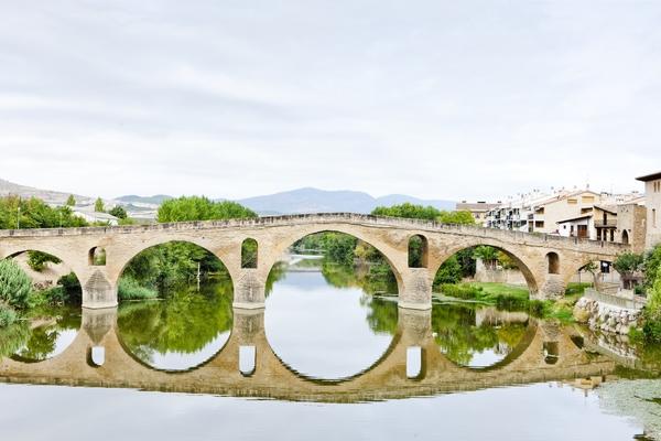 Die Brücken des Jakobsweges beim Gänsespiel