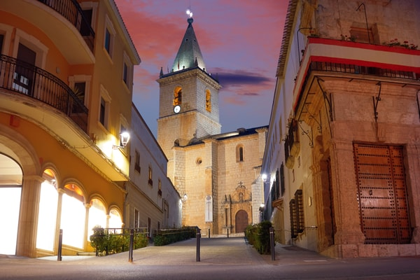 Albacete: one of the stages on the Camino de Santiago de Levante route from Valencia