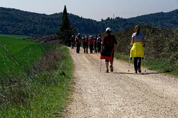 Wenn man den Jakobsweg im Jubeljahr macht, ist der einzige Nachteil der hohe Pilgerzustrom.