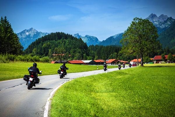 Nachteile des Jakobsweges auf dem Motorrad