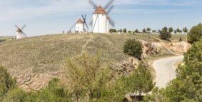 Etapas de la Ruta de la Lana desde Valencia o Alicante