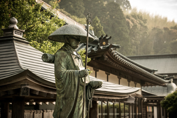 Die Strecke der japanischen Route Shikoku-Henro