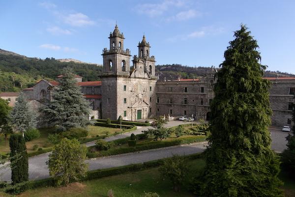 Monasterio de Oseira en Casarellos
