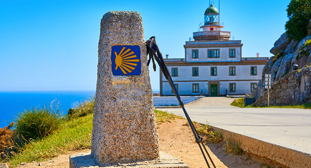 The Camino de Finisterre de Santiago