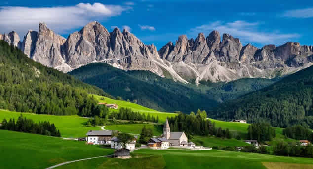 Den Dolomiten